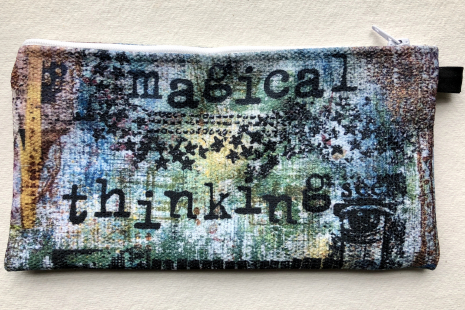 Magical Thinking small art carry-all