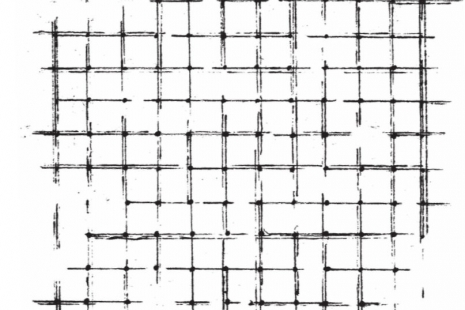 Mosaic Tile Cling Rubber Stamp
