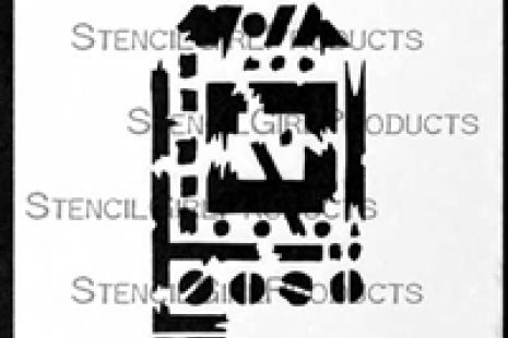 Techno Insiders Tag Stencil
