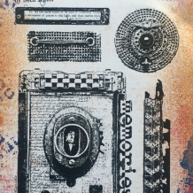 Eclectica³ 05 Cling Rubber Stamp Set