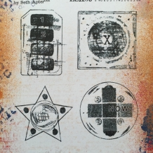 Eclectica³ 03 Cling Rubber Stamp Set