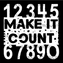 Make it Count Stencil