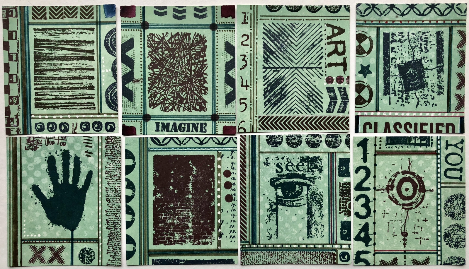 New Release:PaperArtsy Stamp Minis | Seth Apter