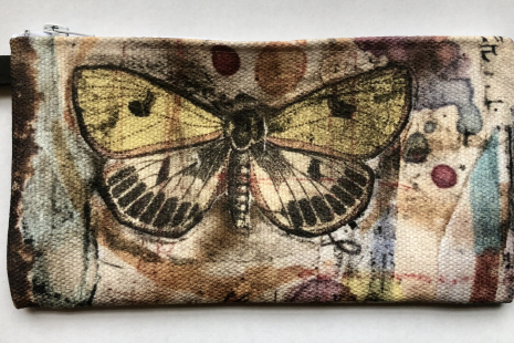 Butterfly small art carry-all
