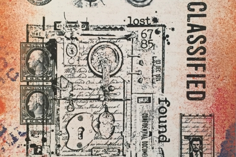 Eclectica³ 07 Cling Rubber Stamp Set
