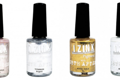 Izink Pigment Ink: Metal Set
