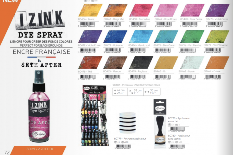 Izink Dye Spray