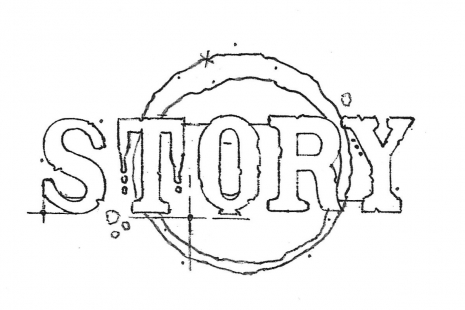 Story Rubber Stamp