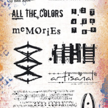 Eclectica³ 24 Cling Rubber Stamp Set