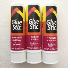 Avery Glue Stick 3-Pack
