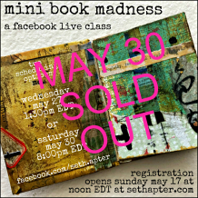 Mini Book Madness Online Class: May 30