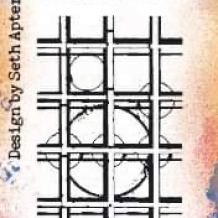 Eclectica³ Mini 51 Cling Rubber Stamp