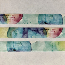 Yohaku Washi Tape: Aquarium