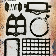 Eclectica³ 11 Cling Rubber Stamp Set