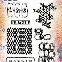 Eclectica³ 19 Cling Rubber Stamp Set