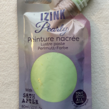 Izink Pearly: Peppermint Cream