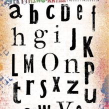 Everything Alphabet Cling Rubber Stamp Set