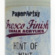 PaperArtsy Paint: Hint of Mint